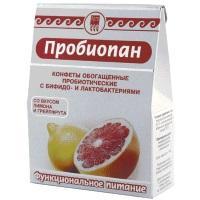 Конфеты обогащенные пробиотические «Пробиопан»