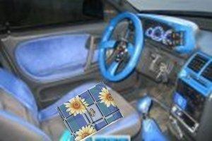 Массажный коврик в автомобиле